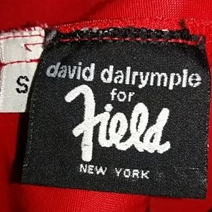 David Dalrymple for Field NY Dresses - David Dalrymple for Field NY red/black gown